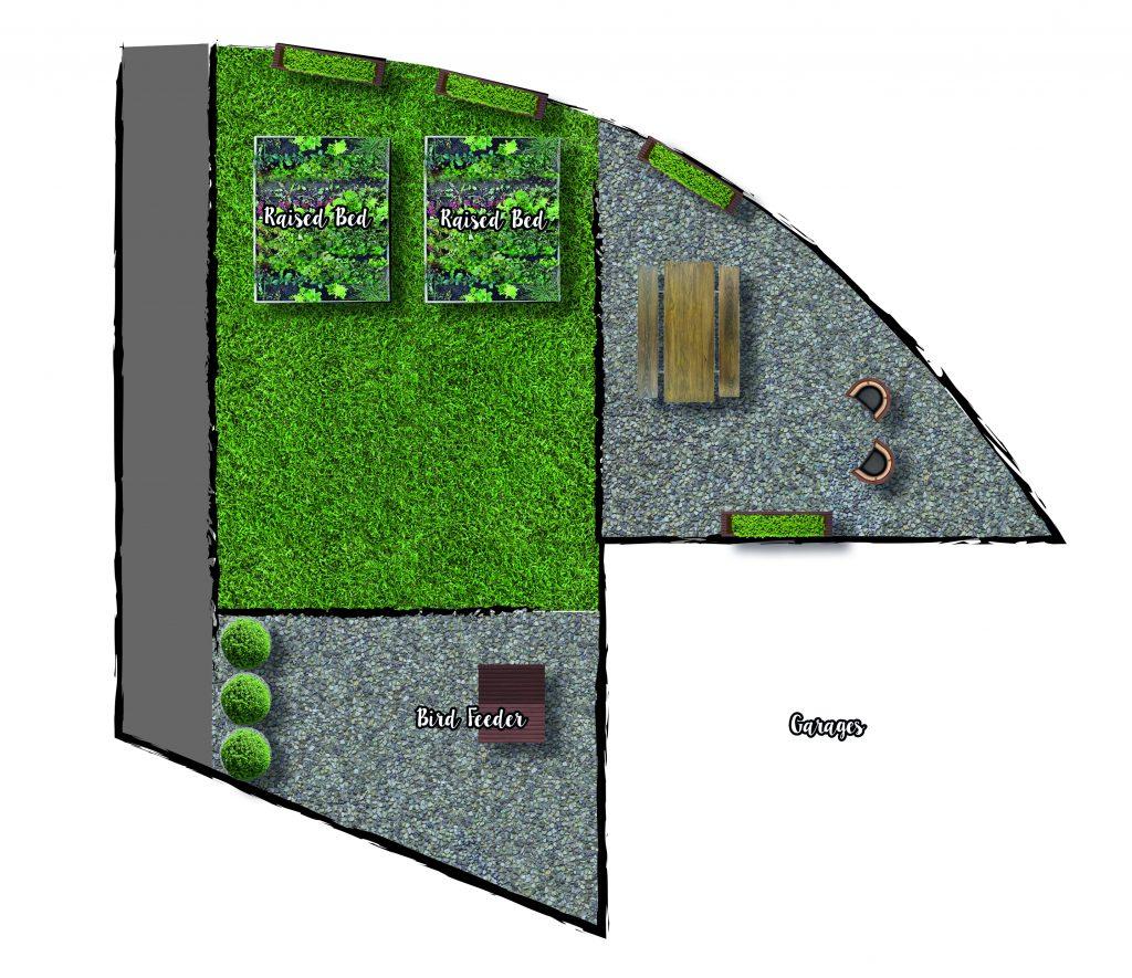 Bronco Garden Plan